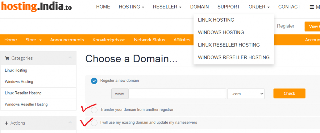 hosting.india.to domain regisiter