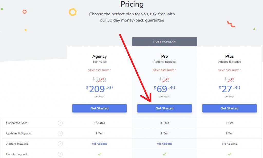 social snap pricing