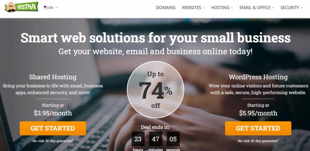 hostpapa com website