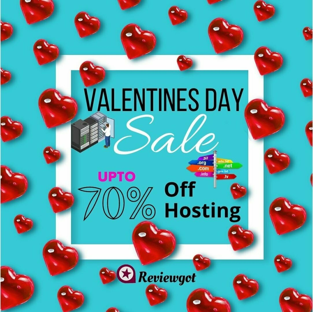 valentines day web hosting offers