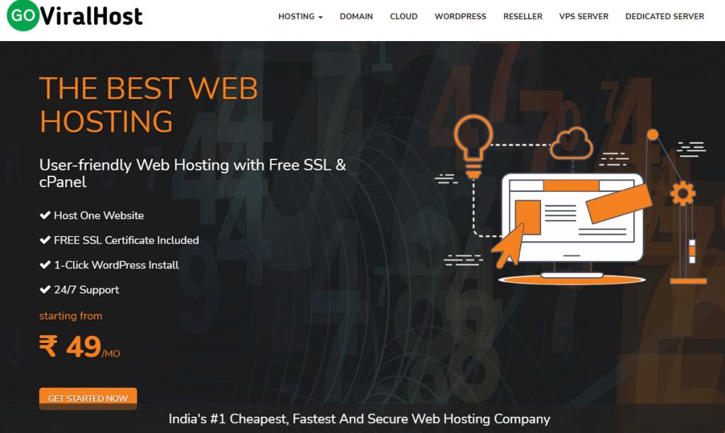 goviralhost website