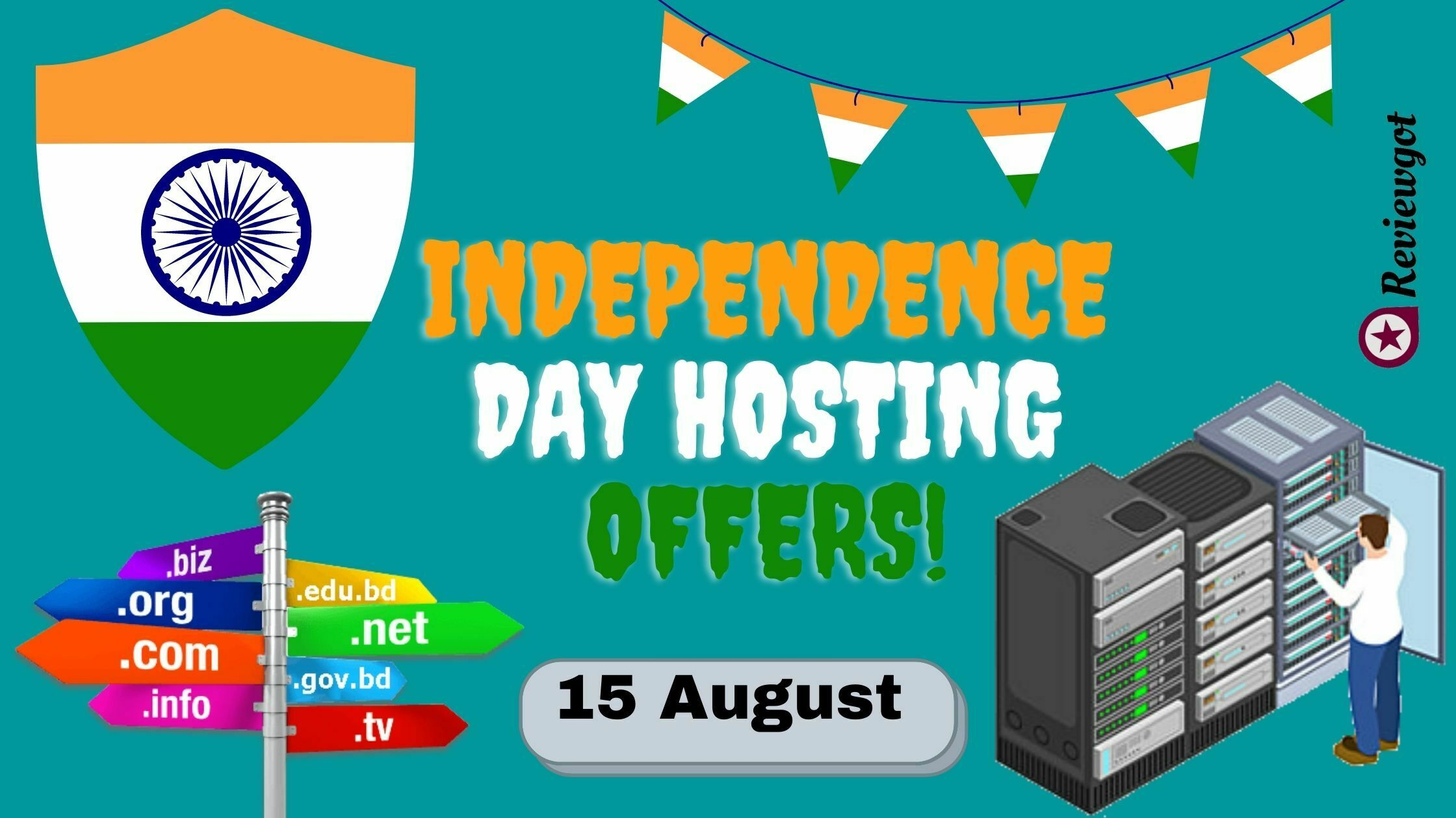Independence Day Hosting Offers