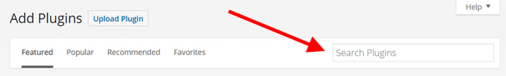 search new plugin