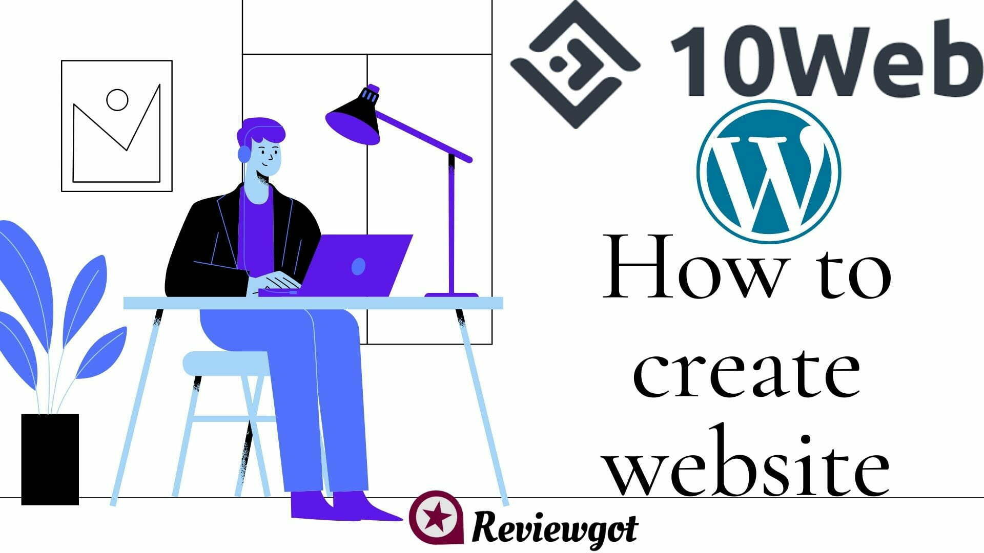 How to Create Wordpress Website on 10web