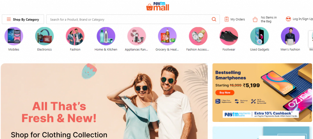paytmmall in india